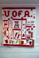 University of Alabama quilt by Nora Ezell at the Alabama Artists Gallery at 1 Dexter Avenue in...