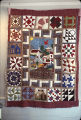 "Jones Valley Quilt"" quilt by Nora Ezell at the Alabama Artists Gallery at 1 Dexter Avenue in..."