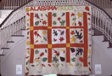 "Alabama Tree"" quilt by Nora Ezell at the Alabama Artists Gallery at 1 Dexter Avenue in..."