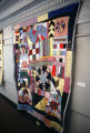 "Crazy Quilt"" quilt by Nora Ezell at the Alabama Artists Gallery at 1 Dexter Avenue in..."