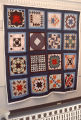 "Sampler Blocks"" quilt by Nora Ezell at the Alabama Artists Gallery at 1 Dexter Avenue in..."