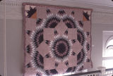 "Broken Star"" quilt by Nora Ezell at the Alabama Artists Gallery at 1 Dexter Avenue in..."