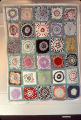 "Once in a Lifetime"" quilt by Nora Ezell at the Alabama Artists Gallery at 1 Dexter Avenue in..."