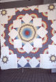 "Star"" quilt by Nora Ezell at the Alabama Artists Gallery at 1 Dexter Avenue in Montgomery,..."