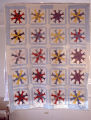 "Fish Circle"" quilt by Nora Ezell at the Alabama Artists Gallery at 1 Dexter Avenue in..."