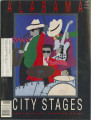 Alabama Sampler Stage excerpt from the program for the 1992 Alabama City Stages in Birmingham,...