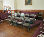 Hollow square at the annual Henagar-Union Sacred Harp convention at Liberty Baptist Church in...