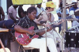 Johnny Shines and Davey Williams performing at the Black Belt Folk Roots Festival in Eutaw,...