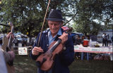 Benton Flippen performing at the twenty-second annual Tennessee Valley Old Time Fiddlers...