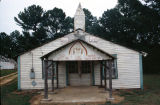 Chapel outside the entrance to the home of B. F. Perkins in Bankston, Alabama.