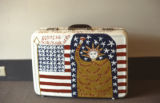 """All American Suitcase,"" or ""Turned into Folkart,"" by B. F. Perkins."
