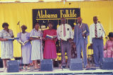 Wiregrass Sacred Harp Singers at the 1990 Alabama Folklife Festival in Birmingham, Alabama.