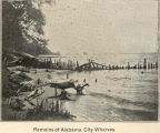 Remains of Alabama City Piers