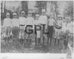 Gadsden's First Baseball Team 1885