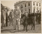 "Pres. Harry Truman, E.E. ""Red"" Cox"