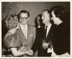 "E.E. ""Red"" and Jo Cox with Zsa Zsa Gabor"