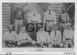 Fairview Baseball Team 1898