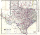 """Clason's Guide Map of Texas."""