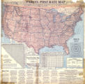 """Parcel Post Rate Map of the United States."""