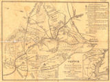 """Sketch of the Country Occupied by the Federal and Confederate Armies on the 18th and 21st of..."