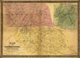 """Map of Northern Georgia and Tennessee."""
