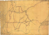 """Sketch of condition of railroads in Tennessee, Mississippi, Alabama, and Georgia."""