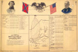 """Map showing the Battlefield at Harrisburg, Miss., 13-15 July 1864."""