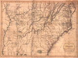 """Map of the Southern States of America, Comprehending Maryland, Virginia, Kentucky, Territory..."