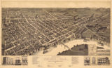 """Perspective Map of Selma, Alabama."""