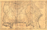 """A Map of Georgia, also the Two Floridas, from the best Authorities."""
