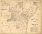 """Pope's Map of City of Gadsden."""