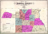 """Map of Houston County, Alabama."""