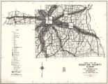 """Traffic Flow Map, Houston County, Alabama."""