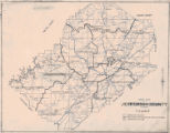 """Road Map of Jefferson County, Alabama."""