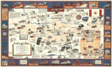 """A Map of Birmingham wherein Vulcan turns the Pages of Life and Legend in the Magic..."