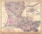 """Map of the State of Louisiana."""