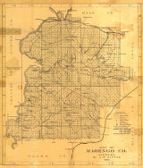 """Map of Marengo County, Alabama."""