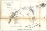 """Map of the Battle of El Molino Del Rey"""