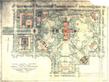 """State Capitol Grounds, Montgomery, Alabama, General Plan for Improvements."""