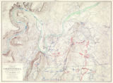 """Map of the Battlefields of Chattanooga."""