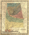 """Geological Map of Alabama prepared for Berney's Hand Book of Alabama."""