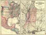 """Map Showing the Route of the Mobile & Northwestern Railroad, and its Connections by Land..."