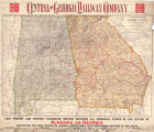 """Geographically Correct Map of Alabama and Georgia: The Great Agricultural and Industrial..."