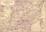 """Geographically Correct Map of Atlanta and West Point Rail Road Company: The Western Railway..."