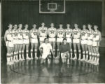 Northeast Alabama State Junior College Mustangs Men's Basketball Team Photograph, 1966-67