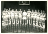Northeast Alabama State Junior College Mustangs Men's Basketball Team Photograph, 1967-68