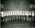 Northeast Alabama State Junior College Mustangs Men's Basketball Team Photograph, 1968-69