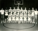 Northeast Alabama State Junior College Mustangs Men's Basketball Team Photograph, 1970-71