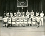Northeast Alabama State Junior College Mustangs Men's Basketball Team Photograph, 1971-72