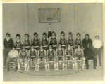 Northeast Alabama State Junior College Mustangs Men's Basketball Team Photograph, 1972-73
